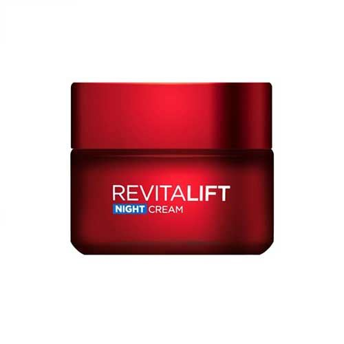 Kem Dưỡng da săn chắc da & Giảm nếp nhăn Revitalift Night Cream Loreal 50ml