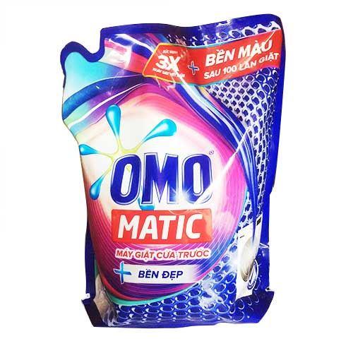 Nước giặt Omo Matic cửa trước túi 2.7Kg