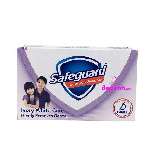 Xà bông cục diệt khuẩn Safeguard Ivory White Care 135g