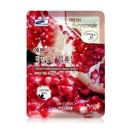 Mặt nạ dưỡng da tinh chất lựu đỏ 3W Clinic Fresh Pomegranate 23ml - Mỹ phẩm  ĐẸP XINH