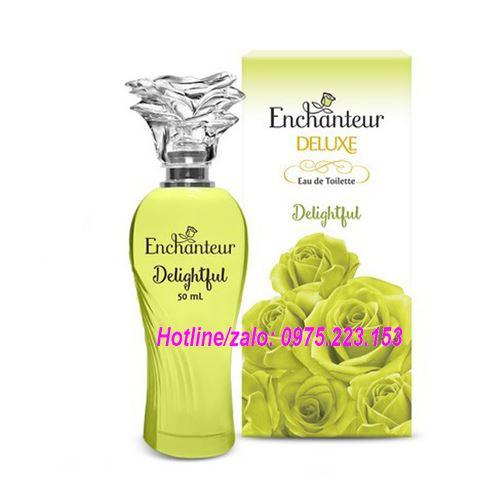 Nước hoa nữ cao cấp Enchanteur Delighful 50ml