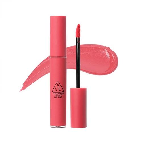 Son kem 3CE Velvet Lip Tint Enjoy Love 3.5ml - Hồng Nude