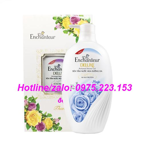 Hộp quà sữa tắm hương nước hoa Enchanteur Magic 650g