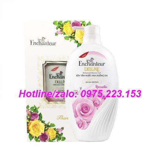 Sữa tắm hương nước hoa Enchanteur Romantic 650g