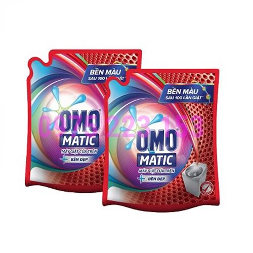 Túi nước giặt Omo Matic bền đẹp máy giặt cửa trên 2.4kg