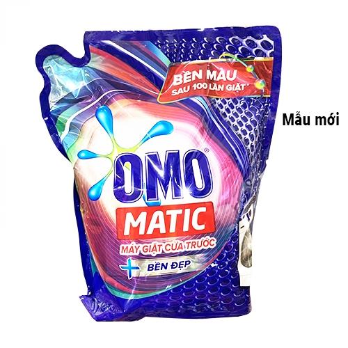 Túi nước giặt Omo Matic Cửa Trước Bền Màu 2.7kg