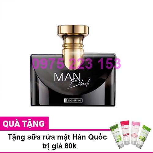 Nước hoa nam CEE Perfume Man Black 50ml