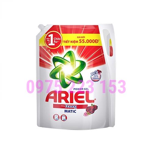 Túi nước giặt khử mùi hôi Ariel Power Gel hương Downy 2.15kg