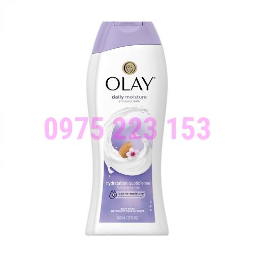 Sữa tắm trắng da dưỡng ẩm Olay Hydratinh Clean 650ml