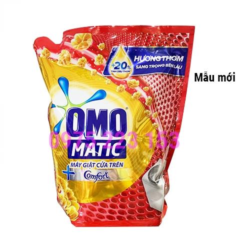 Nước giặt Omo Matic cửa trên túi 2.3 Kg