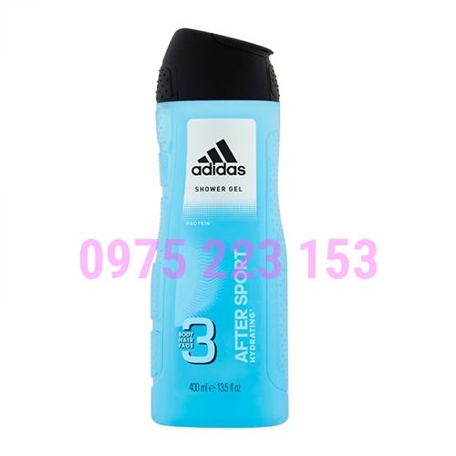 Tắm gội toàn thân Adidas After Sport Protein Hydrating 400ml