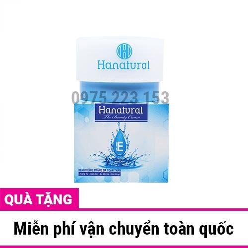 Kem dưỡng trắng da toàn thân Vitamin E Hanatural 120g