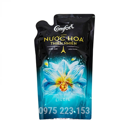 Túi nước xả vải Comfort hương nước hoa Lilie 750ml