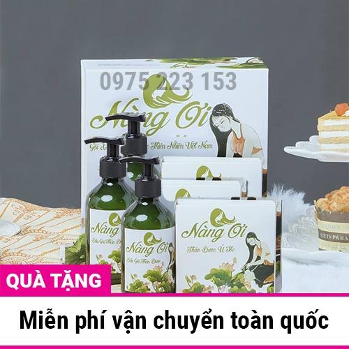 Combo 3 Bộ Dầu gội và Ủ thảo dược Nàng Ơi Thiên Nhiên Việt