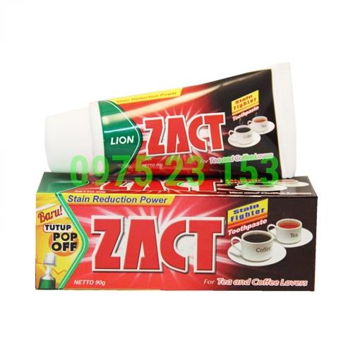 Kem đánh răng tẩy trắng dành cho người hút thuốc Zact 90g