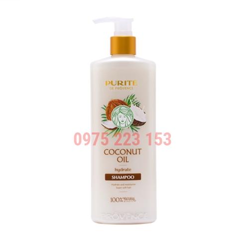 Dầu gội dưỡng ẩm Purite De Provence Coconut Oil 350ml