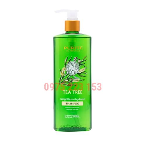 Dầu gội dưỡng chất thiên nhiên Purite De Provence Tea Tree 350ml