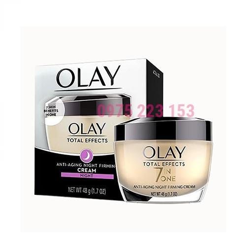 Kem dưỡng da ngừa lão hoá ban đêm Olay Total Effects 50g
