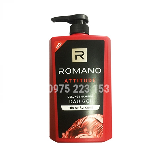 Dầu gội hương nước hoa Romano Attitude 650g