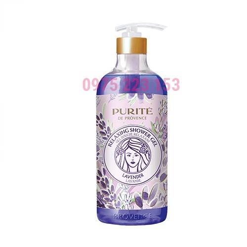 Sữa tắm Purite by Provence Hoa Oải Hương 850ml