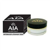 Kem dưỡng da toàn thân ban đêm  AIA Whitening Body Lotion Night Cream 150g