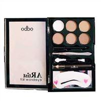 Bộ kẻ mày Odbo Artist Eyebrow Kit 01 Light To Medium - Nâu Sáng