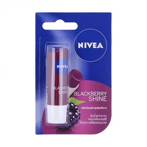 Son dưỡng ẩm Nivea Blackberry Shine - Hương Mâm Xôi 4.8g