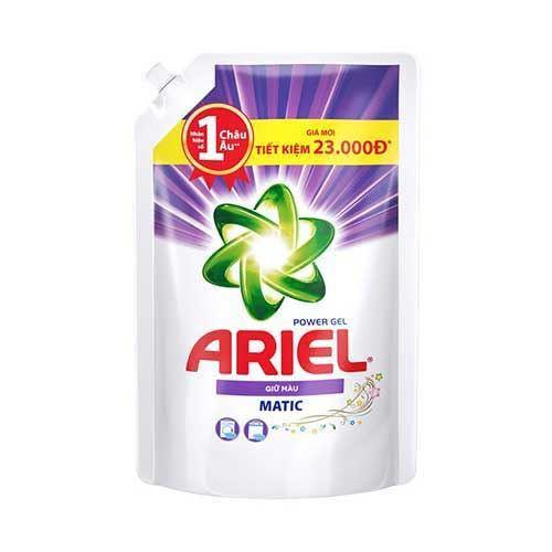Túi nước giặt giữ màu quần áo Ariel Power Matic 2.15kg