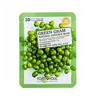 Mặt nạ 3D dưỡng da đậu xanh Food A Holic Green Gram 23g
