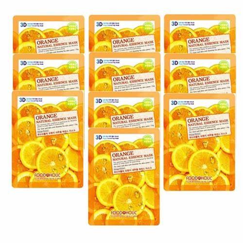 Mặt nạ 3D Cam tươi FoodAHolic Orange 23g