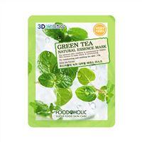 Mặt nạ 3D dưỡng da tinh chất trà xanh FoodAHolic Green Tea Mask 23g