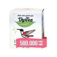 Trà thảo mộc giảm cân Vy & Tea 30g - Tặng kèm mặt nạ dưỡng da Pure Mind