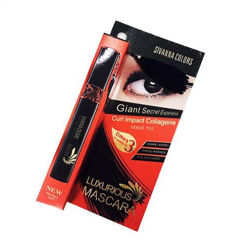 Mascara dài mi không thấm nước Sivanna Colors Luxurious HF897