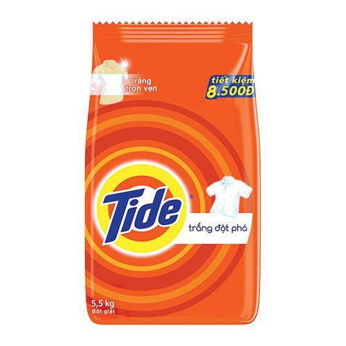 Bột giặt Tide Trắng đột phá 5.5kg