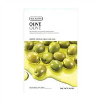 Mặt nạ trái ô liu Real Nature Olive Olive TheFaceShop 20g
