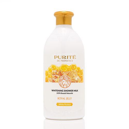 Sữa tắm dưỡng trắng da sữa ong chúa Purite 500ml