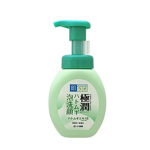 Sữa rửa mặt dành cho da mụn  Hada Labo Gokujyun Hatomugi 160ml