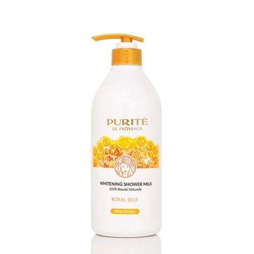 Sữa tắm dưỡng trắng da Purite sữa ong chúa 850ml