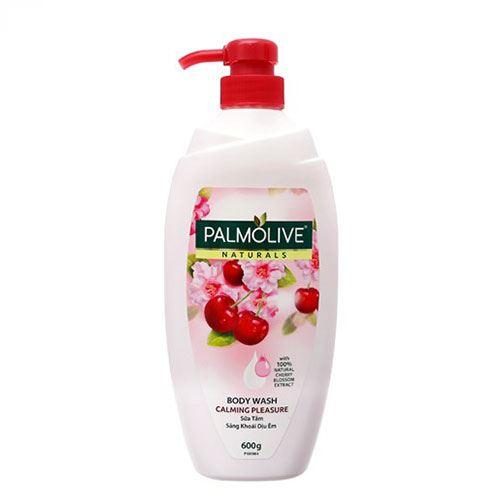 Sữa tắm Palmolive Naturals Hoa anh đào và sữa 600g