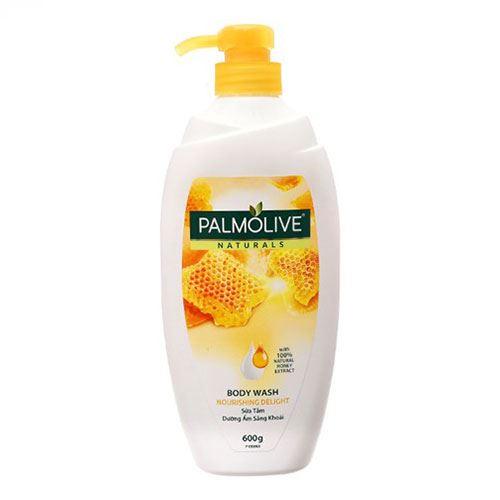 Sữa tắm Palmolive Naturals mật ong và sữa 600g