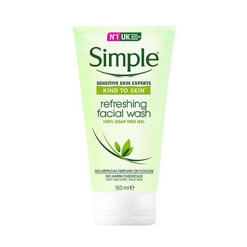 Sữa rửa mặt dành cho da nhạy cảm Simple Sensitive Skin Experts Refreshing 150ml