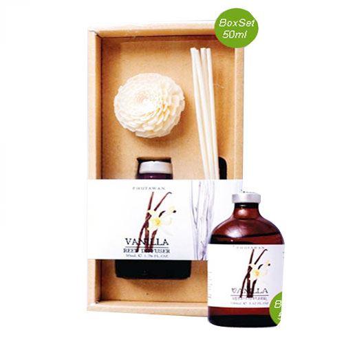 Tinh dầu thơm que gỗ Phutawan Vanilla 50ml- Hương Vani