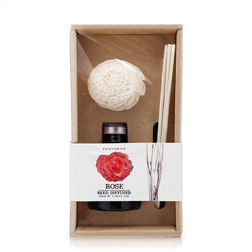 Tinh dầu thơm que gỗ Phutawan Rose 50ml - Hương hoa hồng