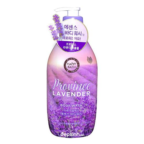 Sữa tắm Happy Bath Province Lavender 900g