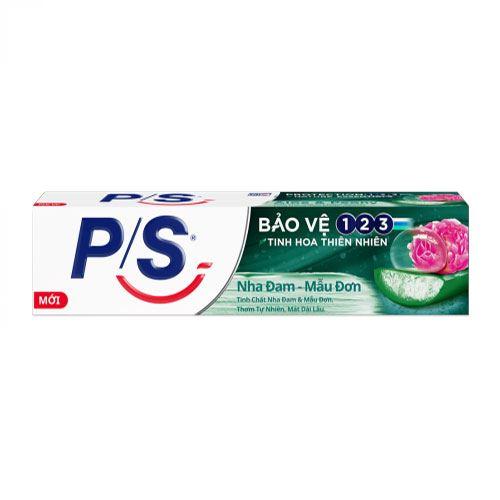 Kem đánh răng P/S bảo vệ 123 tinh hoa nha đam mẫu đơn 180g