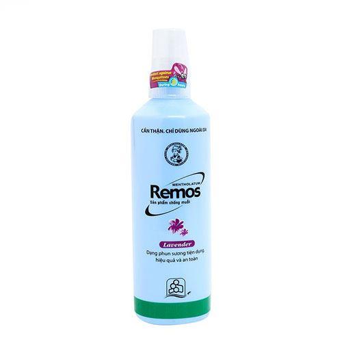 Xịt chống muỗi Remos Mentholatum hương Lavender 150ml