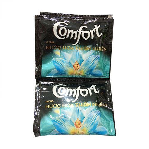 Dây 10 gói nước xả vải Comfort hương nước hoa Lillie 20ml