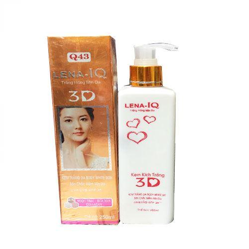Kem kích trắng da ngọc trai sữa non Collagen Lena IQ 3D Q43 250ml