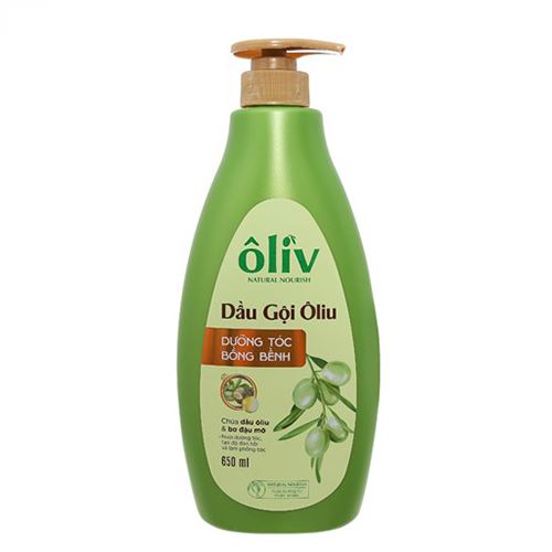 Dầu gội Oliu Purite by Provence dưỡng tóc bồng bềnh 650ml
