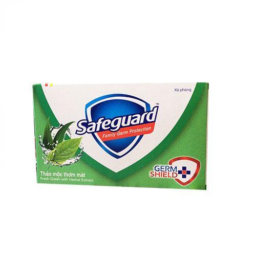 Xà bông cục diệt khuẩn Safeguard hương thảo mộc thơm mát 135g